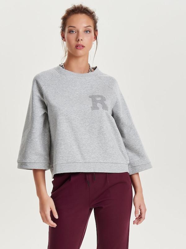 ONLY Lockeres Sweatshirt 'onlCLAIR 3/4 BOX'