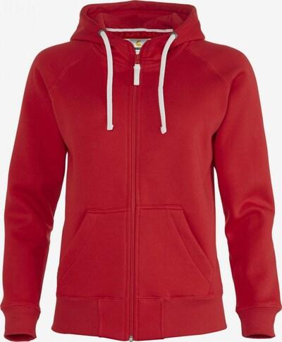 BRDS Sweatjacke 'SARAFINA' in rot, Produktansicht