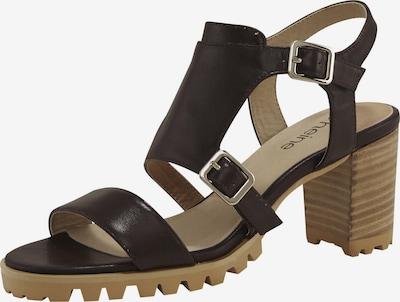 heine Sandalette in dunkelbraun, Produktansicht