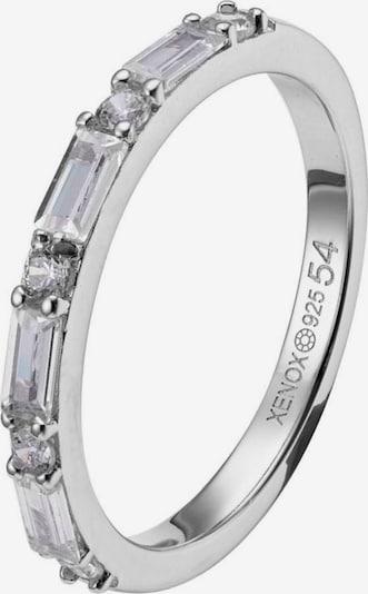 XENOX Ring in silber / transparent, Produktansicht