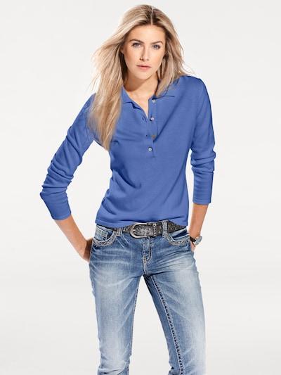 Pullover heine di colore blu: Vista frontale