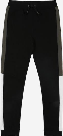 NAME IT Kalhoty 'Kalvin' - šedá / černá / bílá, Produkt