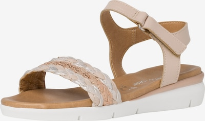 MARCO TOZZI Sandale in beige, Produktansicht