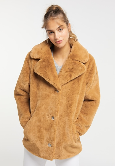 MYMO Jacke in camel, Modelansicht