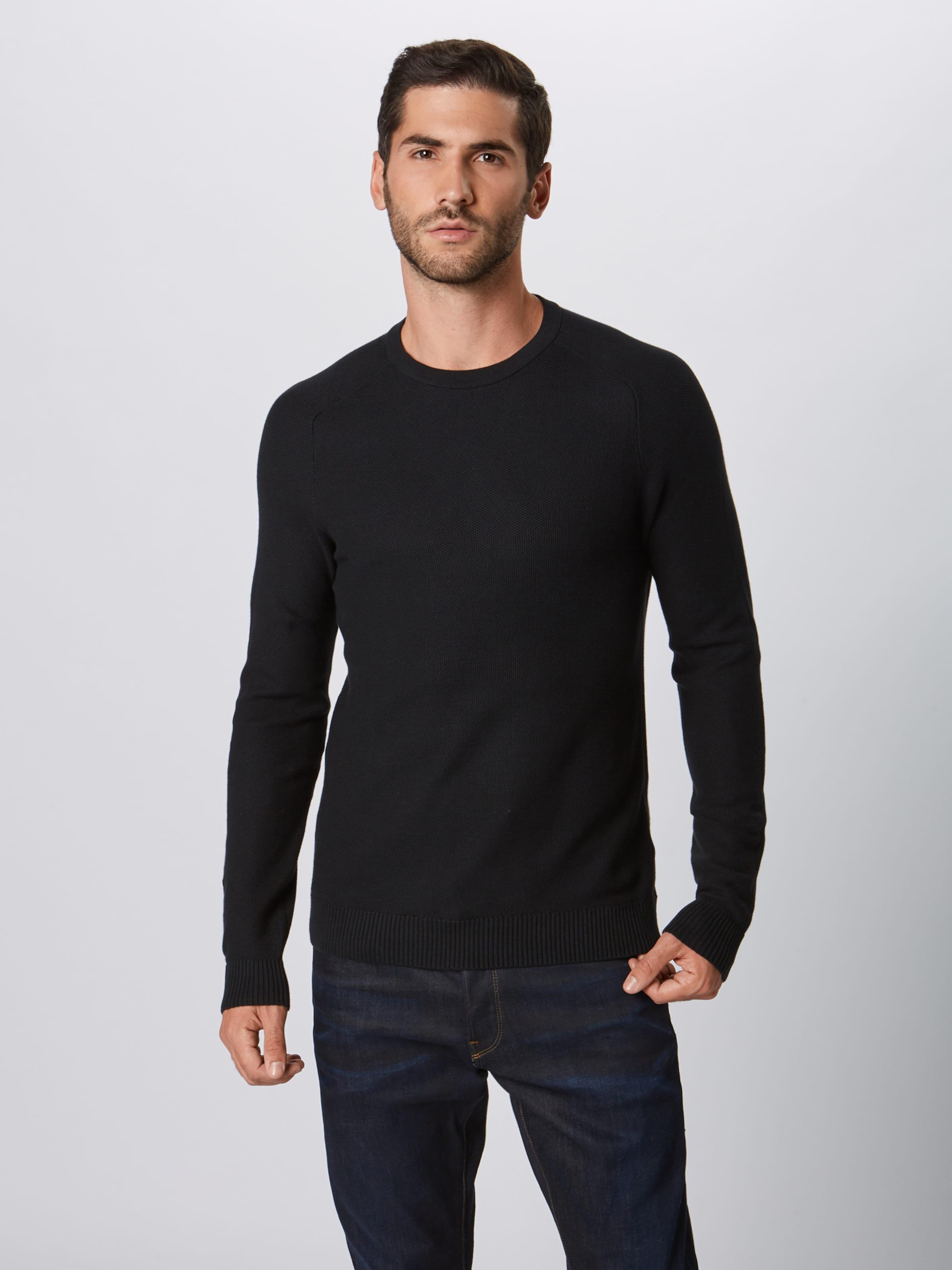 'honeycomb' Pullover Schwarz Esprit 'honeycomb' In In Pullover Schwarz Esprit trsQdh