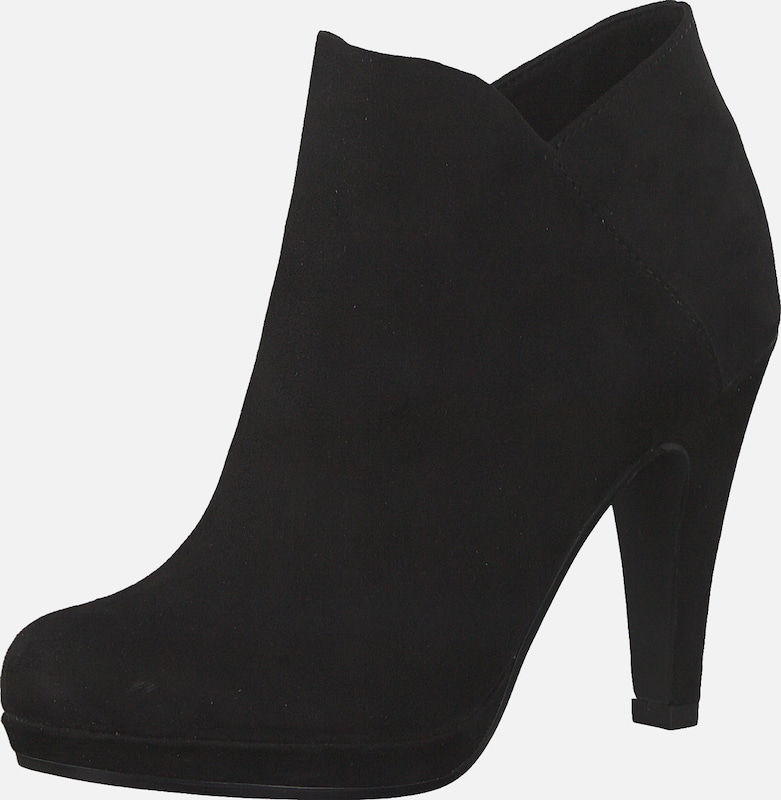 High Heels | Alba Moda Fransen Plateau High Heel Stiefelette