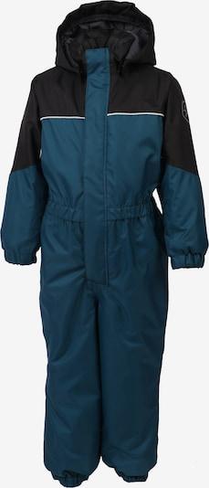 COLOR KIDS Schneeanzug 'Kazor' in enzian / petrol / schwarz, Produktansicht