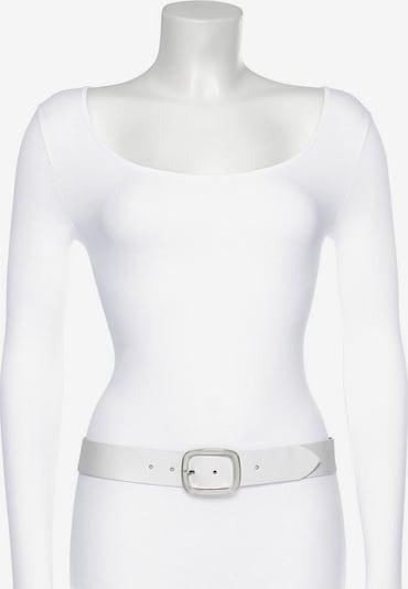 J. Jayz Ledergürtel in weiß, Produktansicht