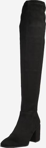 juoda STEVE MADDEN Ilgaauliai batai virš kelių 'Jacey'