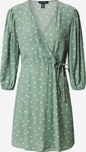 NEW LOOK Robe en vert / blanc, Vue avec produit