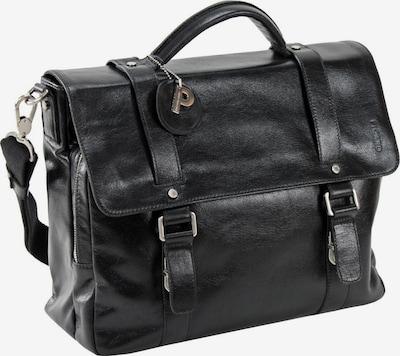 Picard Buddy Aktentasche Leder 37 cm in schwarz, Produktansicht