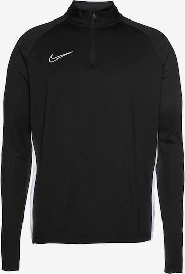 NIKE Trainingsshirt in schwarz: Frontalansicht