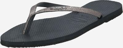 HAVAIANAS Zehentrenner 'HAV. YOU SHINE' in graphit, Produktansicht