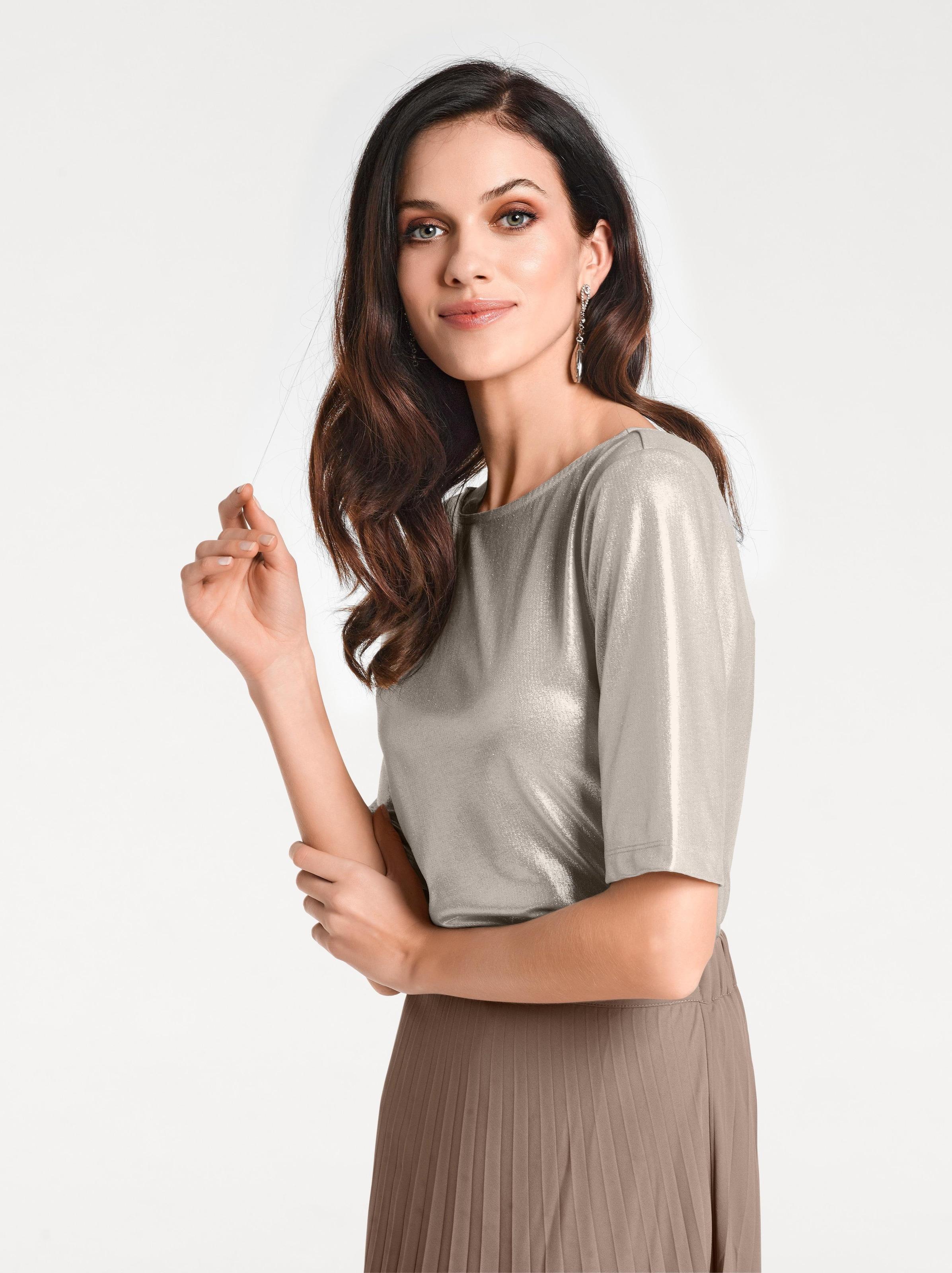 Rabatt Footlocker Bilder Rabatt Beste Geschäft Zu Bekommen Ashley Brooke by heine Shirt mit Rückenausschnitt VbBdddbr4A