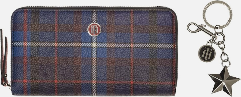 TOMMY HILFIGER Portemonnaie 'EFFORTLESS NOVELTY GIFTSET TARTAN'