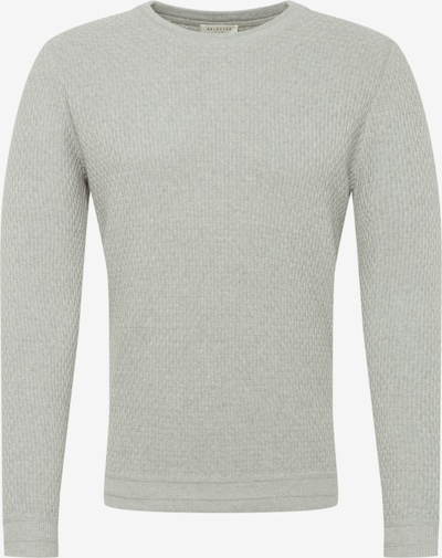 SELECTED HOMME Pullover in hellgrau, Produktansicht