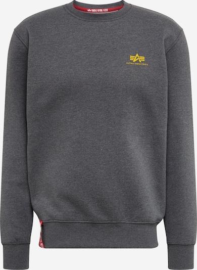 ALPHA INDUSTRIES Sweatshirt in schwarz, Produktansicht