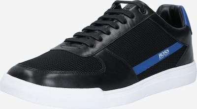 BOSS Sneaker in himmelblau / schwarz: Frontalansicht