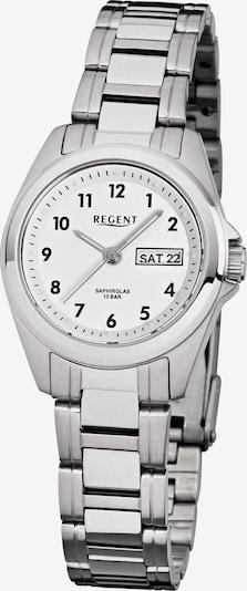 REGENT Uhr in silber / weiß, Produktansicht