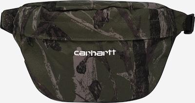 Carhartt WIP Gürteltasche 'Payton' in dunkelbraun / khaki / weiß, Produktansicht