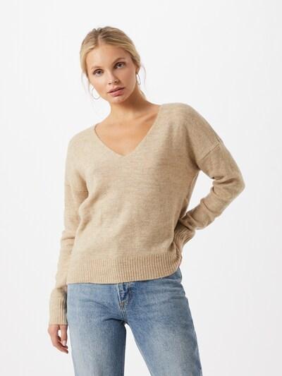 JACQUELINE de YONG Pullover 'Elanora' in sand, Modelansicht