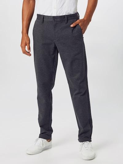 Only & Sons Pantalon en gris foncé: Vue de face