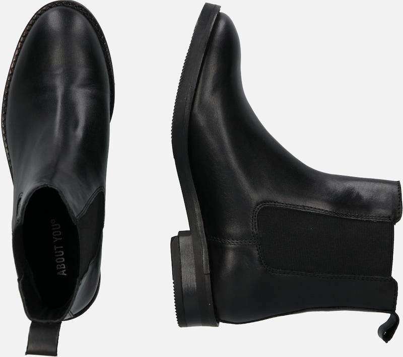TAMARIS Stiefeletten in schwarz weiß   ABOUT YOU
