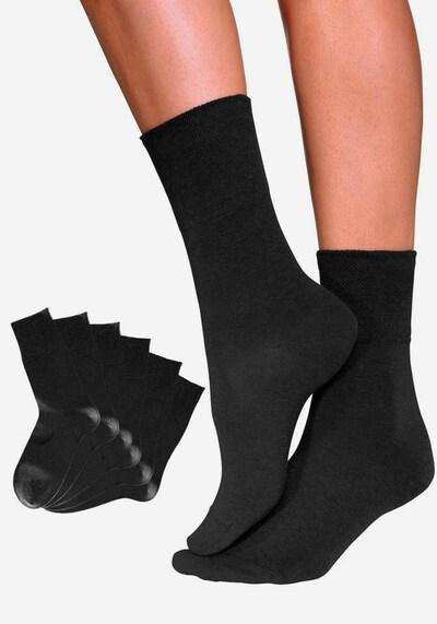 ROGO Socken in schwarz, Produktansicht