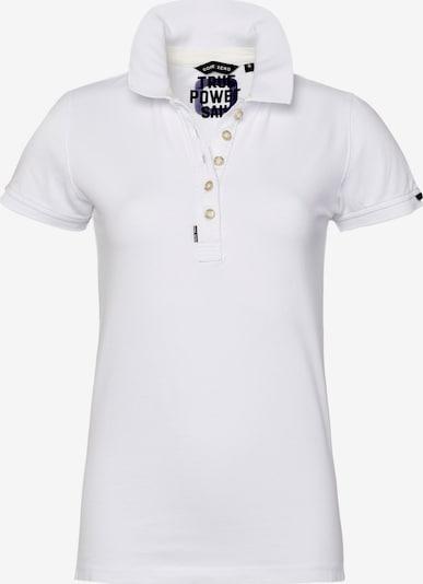 CODE-ZERO Poloshirts Shore Polo Women in weiß, Produktansicht