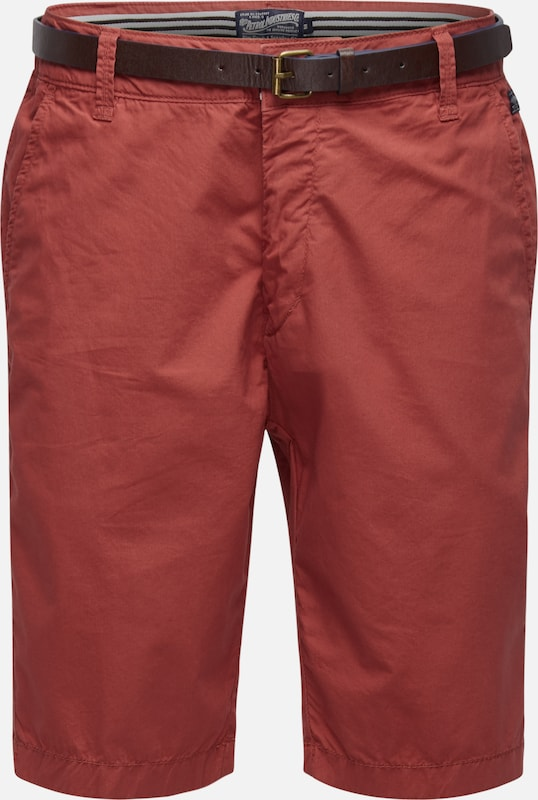 Petrol Industries Shorts in rot, Produktansicht