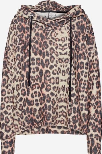 Frogbox Sweatshirt 'tiger lilly' in beige / braun, Produktansicht