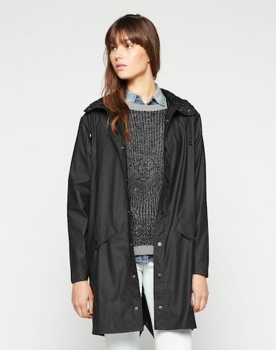 Cappotto di mezza stagione RAINS di colore nero, Visualizzazione modelli