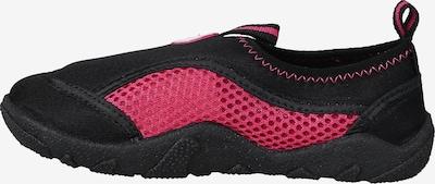 COLOR KIDS Badeschuhe 'Elina' in pink / schwarz, Produktansicht