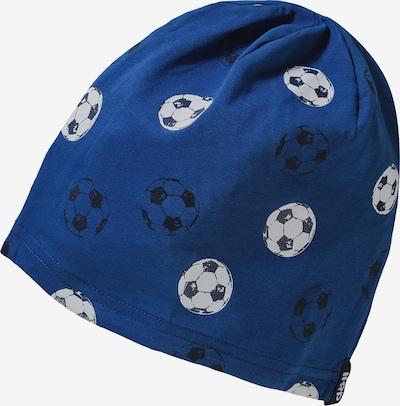 DÖLL Mütze in royalblau / schwarz / weiß, Produktansicht