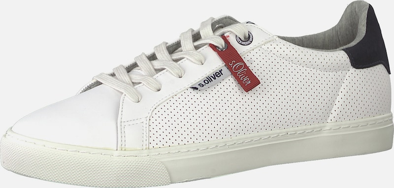 Basses oliver Blanc S Baskets Red Label En 54jARL