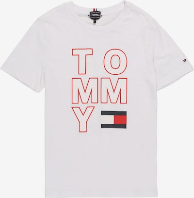 TOMMY HILFIGER T-Shirt en blanc, Vue avec produit