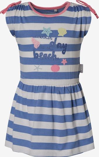SIGIKID Kinder Jerseykleid in blau / weiß, Produktansicht