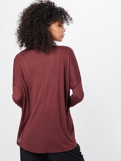 Laisvi marškinėliai iš mbym , spalva - raudona: Vaizdas iš galinės pusės