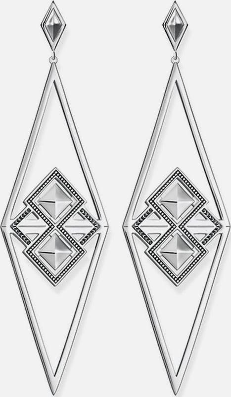 Thomas Sabo Paar Ohrstecker 'Afrika Dreieck, H1935-637-21'