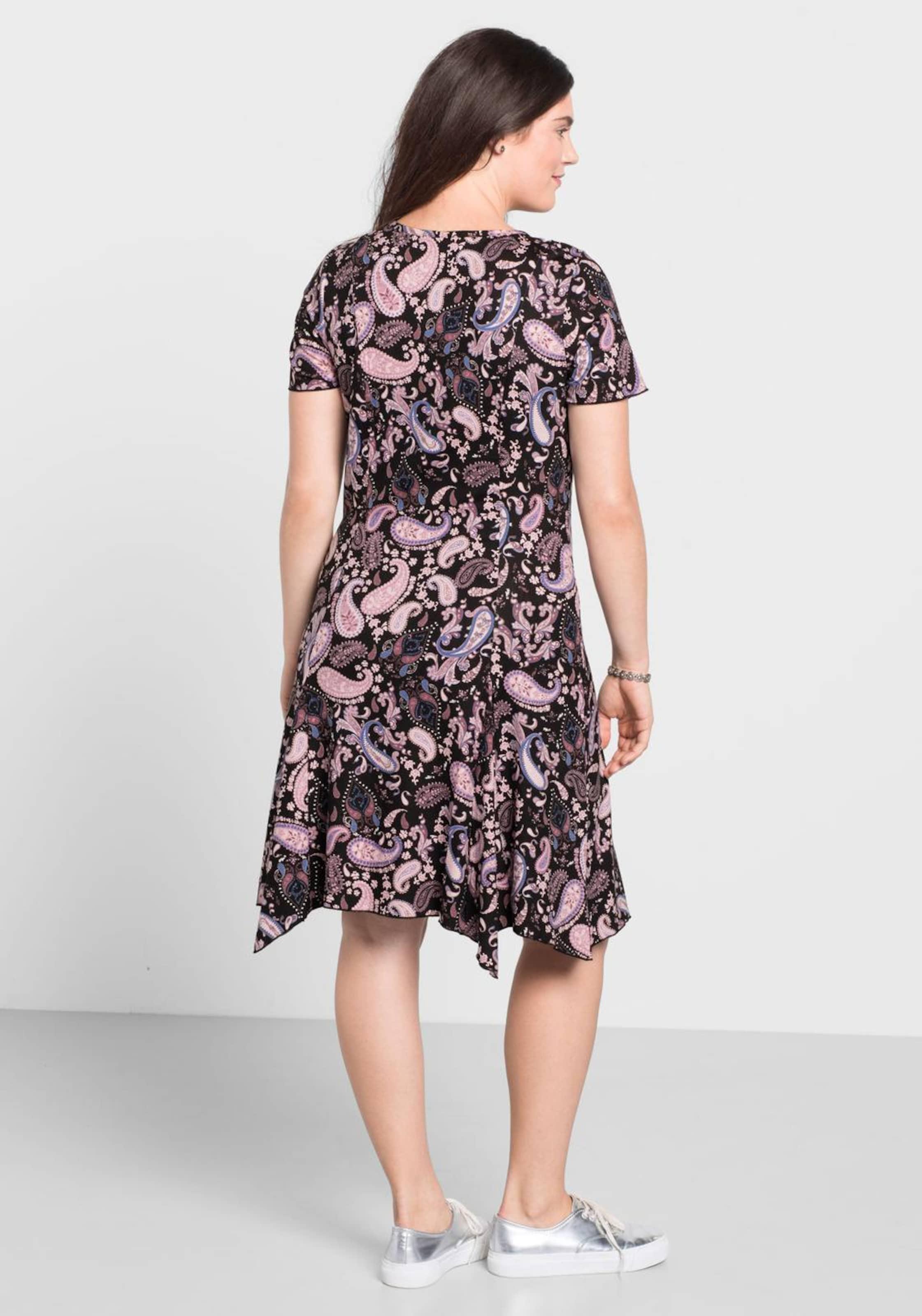 sheego casual Kleid mit Paisley-Muster Zum Verkauf Rabatt Verkauf 6SBIu7Bdgs
