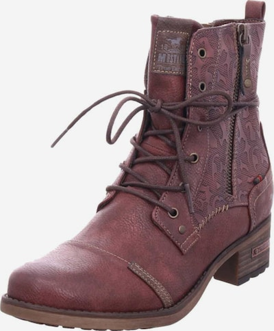 MUSTANG Stiefelette in rot: Frontalansicht