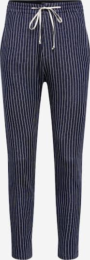 DRYKORN Pantalon 'JEGER' en bleu marine / blanc, Vue avec produit