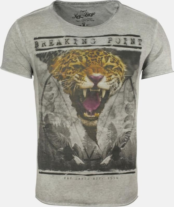 Key Largo T-Shirt 'Toni Tiger'