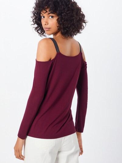 ABOUT YOU Majica 'Ellinor' | bordo barva: Pogled od zadnje strani