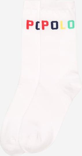 POLO RALPH LAUREN Socken in mischfarben / weiß, Produktansicht