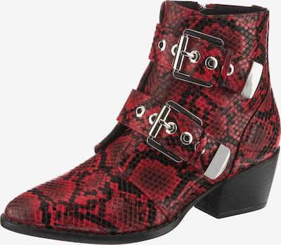 MTNG Stiefelette 'New Oest' in rot / schwarz, Produktansicht