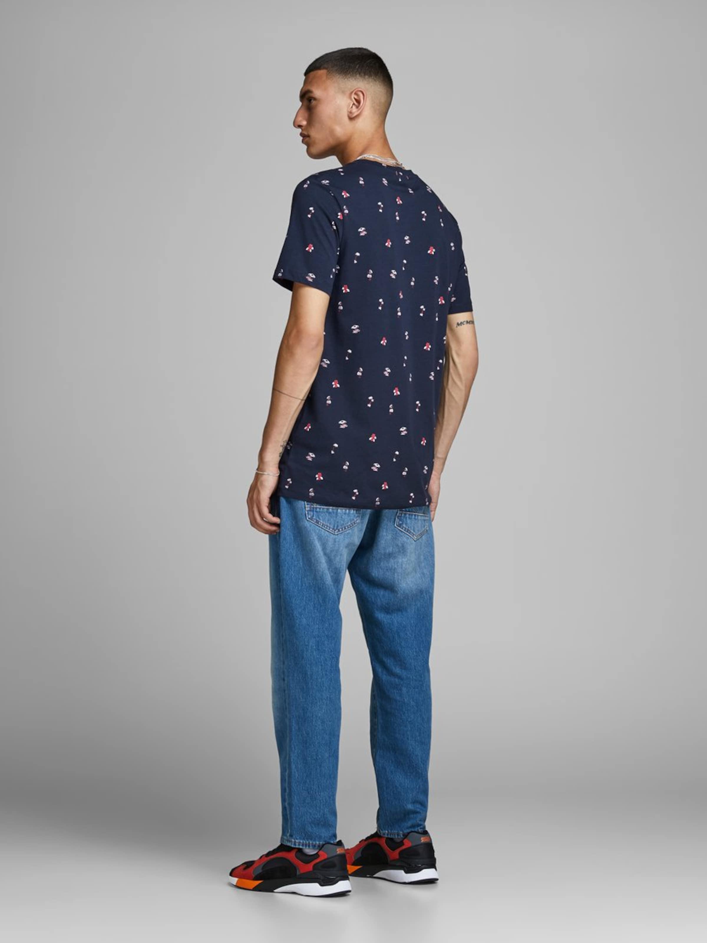 Jackamp; Jones Kleuren In NachtblauwGemengde Shirt qSzVpMU