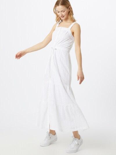 GAP Letní šaty - barva bílé vlny, Model/ka