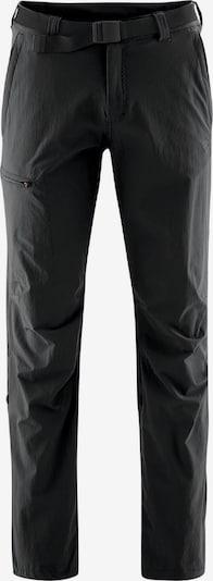Maier Sports Funktionshose 'Nil' in schwarz, Produktansicht