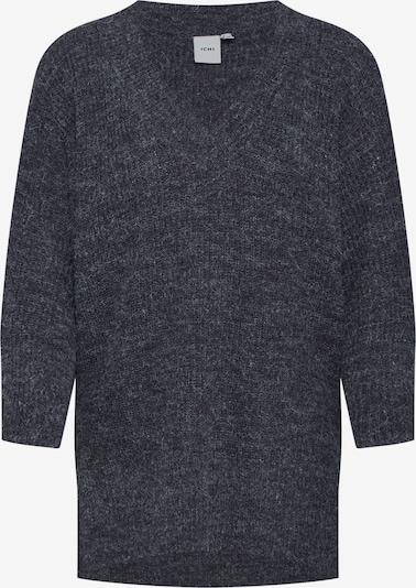 ICHI Pullover 'NOVO LS7' in grau, Produktansicht